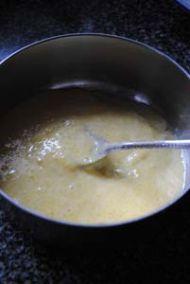 三门青蟹炒年糕的做法步骤:5